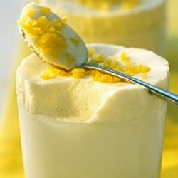 Recette Mousse glacée vanille