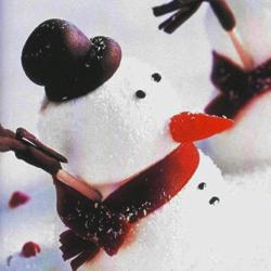 Recette coupe Bonshommes de neige