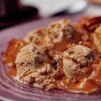 Recette crème glacée aux noix de pécan et au caramel