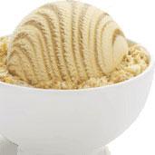 Recette crème glacée au caramel
