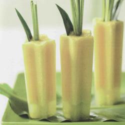 Recette du popsicle à l'ananas et à la lime