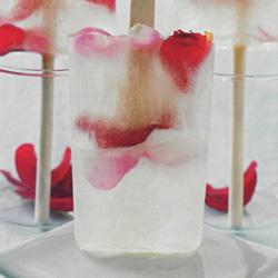 Recette du popsicle aux pétales de roses