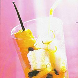 Recette Brochettes d'ananas glacé pinacolada